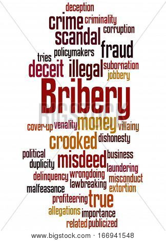 Bribery, Word Cloud Concept 2