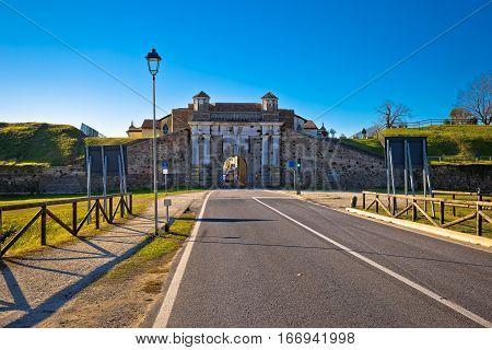 Palmanova Historic Town Gate View