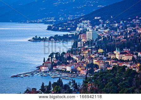 Opatija Riviera Bay Bay And Coastline View