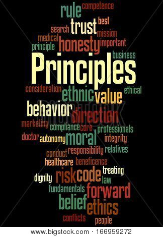 Principles, Word Cloud Concept 6