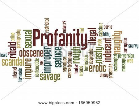 Profanity, Word Cloud Concept 7