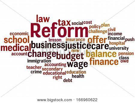 Reform, Word Cloud Concept 3