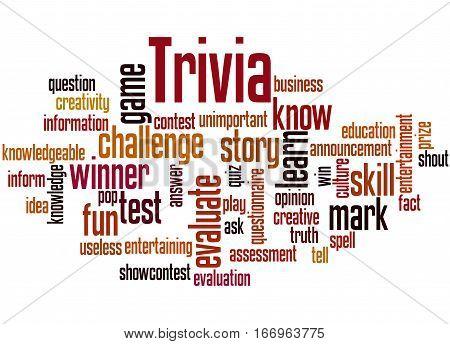 Trivia, Word Cloud Concept