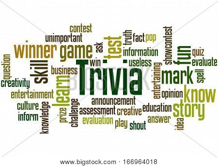 Trivia, Word Cloud Concept 5