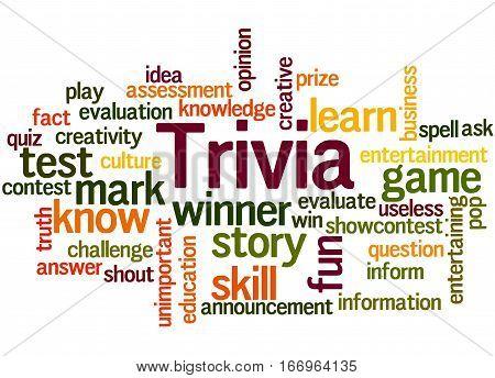 Trivia, Word Cloud Concept 7