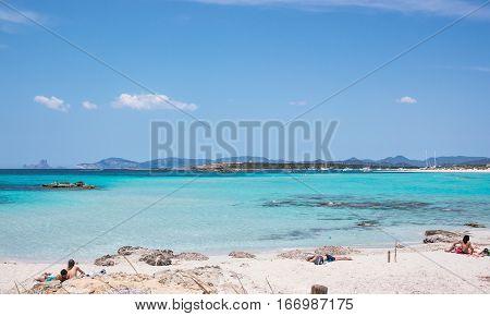 Ses Illetes Beach