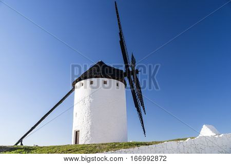 Windmill at the top of the mountain