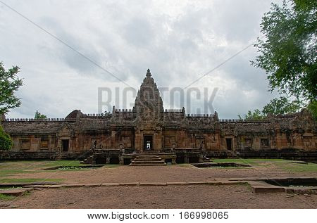 Phanom Rung temple in Thailand's northeastern Buriram province is located at the lip of an extinct volcano