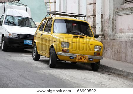 Cuba - Fiat 126P