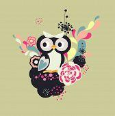 little sweet owl poster