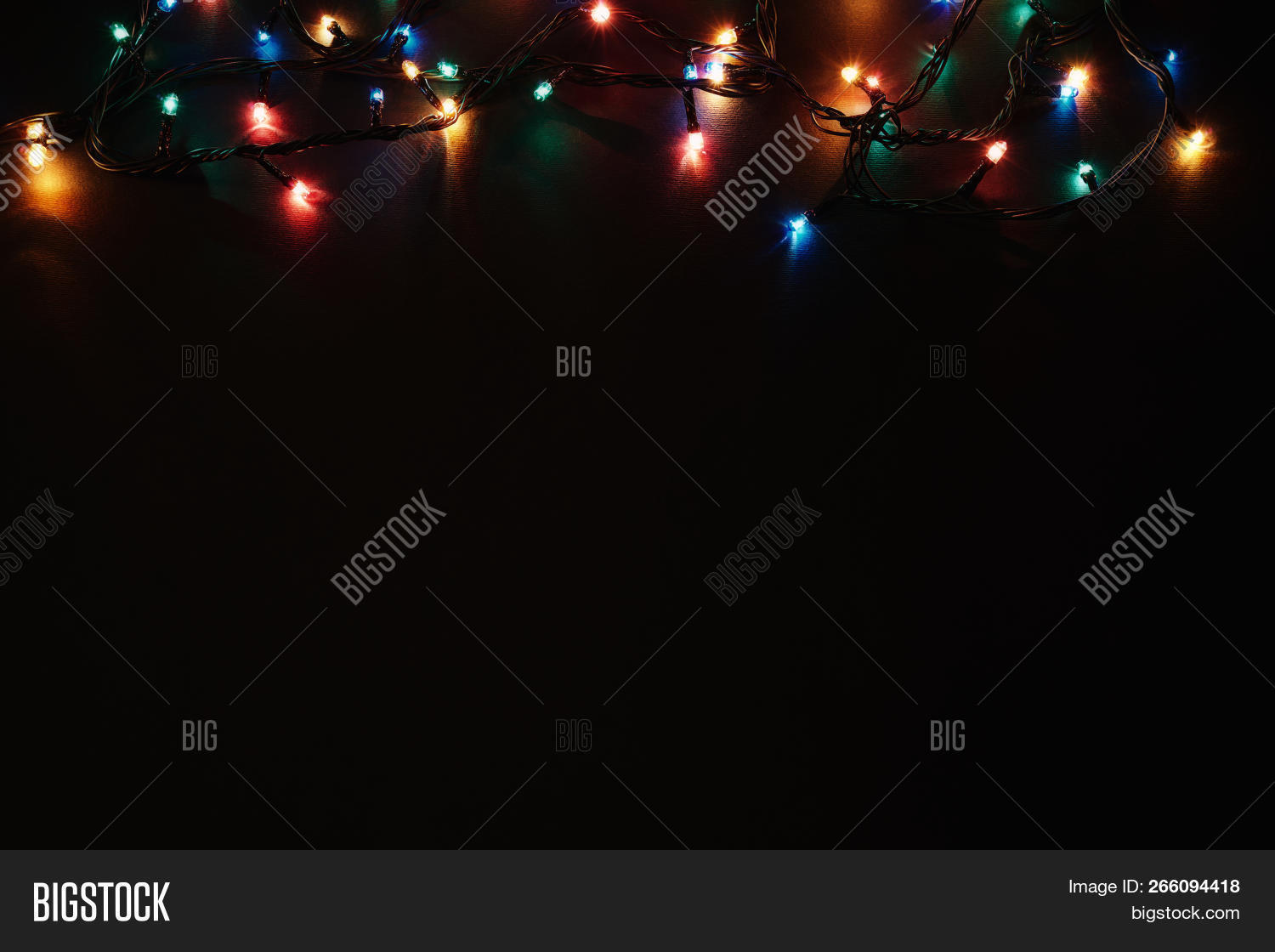 Colorful Christmas Lights Background.Christmas Background Image Photo Free Trial Bigstock