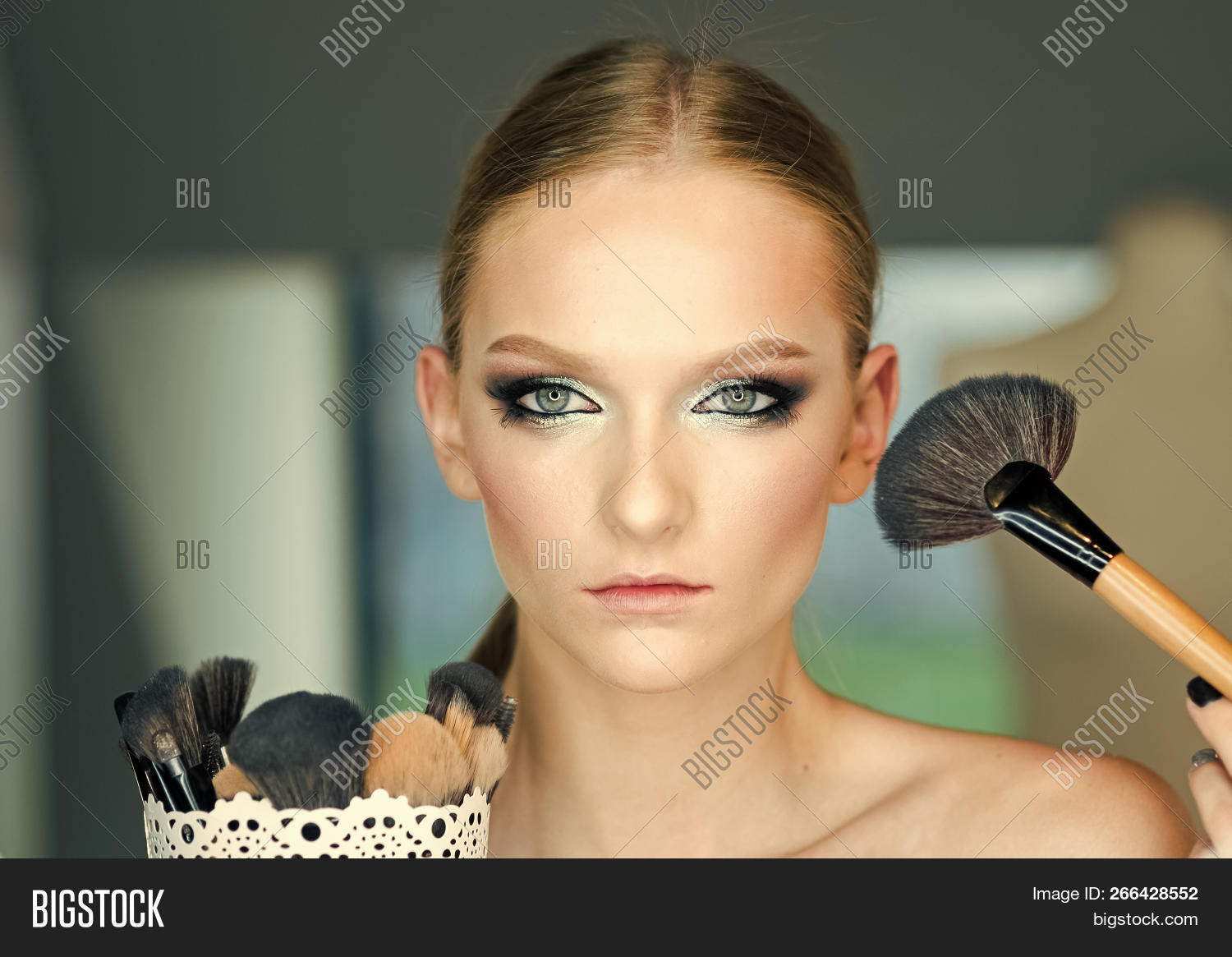 Beauty Model Apply Image & Photo (Free Trial) | Bigstock