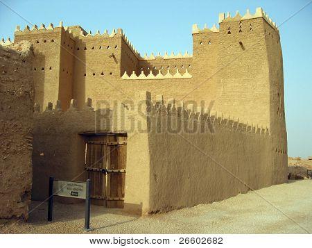 Clay fortress in Diriyah, Er Riyadh