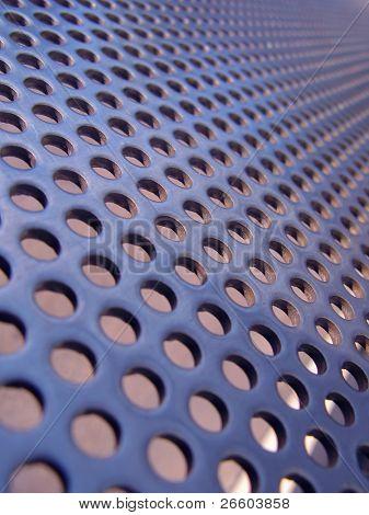 Blue-steel mesh background