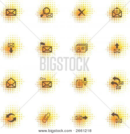 E-Mail Icons, Dots Series