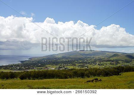 Town Of Hanga Roa - Easter Island