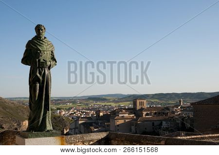 Friar Statue - Cuenca Town - Spain