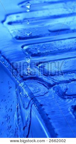 Blue Water Sink