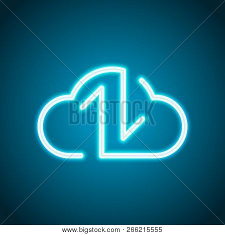 Data Cloud Icon  Vector & Photo (Free Trial) | Bigstock