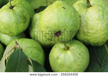 Guava Fruit Is Delicious At Street Food