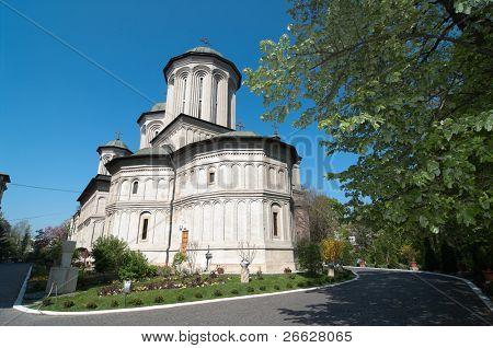 Radu Voda Monastery in Bucharest, Romania