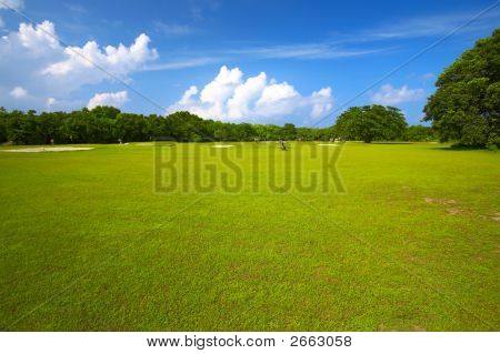 Big Golf Field