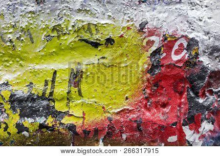Graffiti Wall Close Up