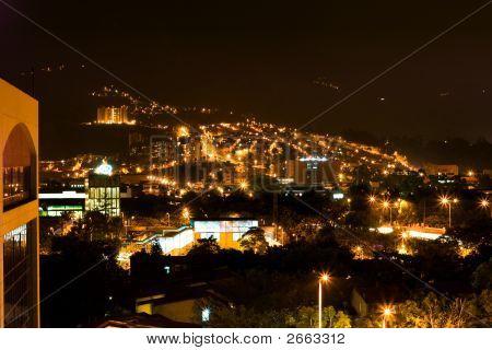 Night Bogota Lights
