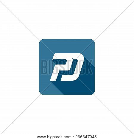 Initial Pd Vector Icon Design, Pd Letter Logo Design Creative Icon Modern Vector Image, Pd Image, Pd