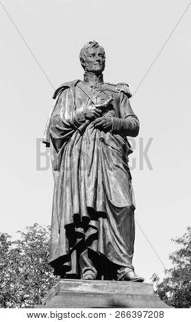 Monument To Prince Mikhail Vorontsov In Odessa, Novorossiysk And Bessarabian Governor-general (1823-