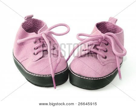 Little pink booties