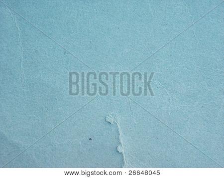 Old blue paper