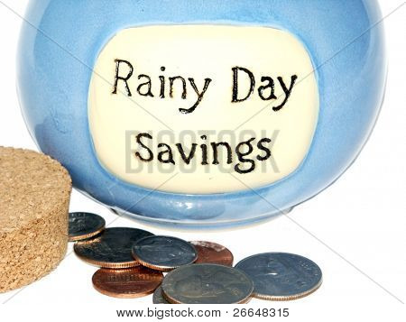 Rainy Day Jar