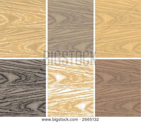 Seamless vector non-traced wooden Multi Colored patterns poster