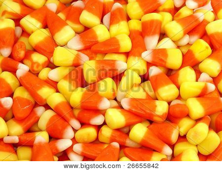 Candy corn background