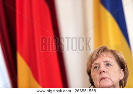 Federal Chancellor Of The Federal Republic Of Germany Angela Merkel