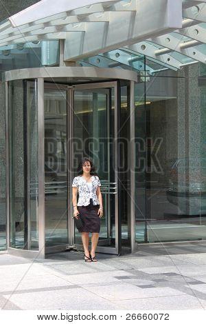 Hostess at a hotel