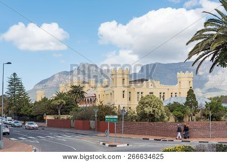 Cape Town, South Africa, August 17, 2018: The Historic Somerset Hospital In Green Point In Cape Town