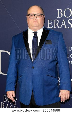 WEST HOLLYWOOD - OCT 29: David Ditmore arriving at the Premiere of Boy Erased at the Directors Guild of America on October 29, 2016 in West Hollywood, California