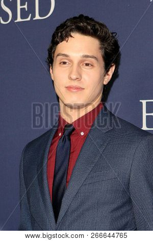 WEST HOLLYWOOD - OCT 29: Josh Scherer arriving at the Premiere of Boy Erased at the Directors Guild of America on October 29, 2016 in West Hollywood, California
