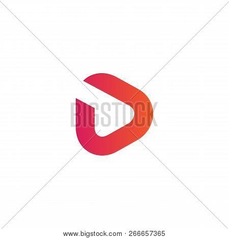 Luxury Vector Logotype Premium Letter D Logo With Modern Design. Elegant Corporate Identity.vector I