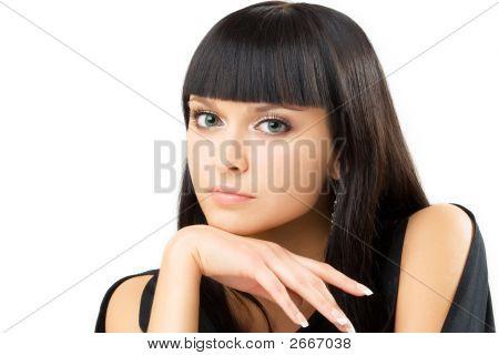 Charming Brunette