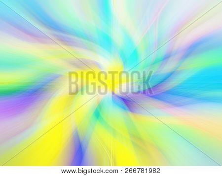 Pastel Colorful Abstract Twist Motion Background Template Wallpaper For Backdrop.