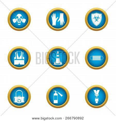 Trestle Icons Set. Flat Set Of 9 Trestle Icons For Web Isolated On White Background