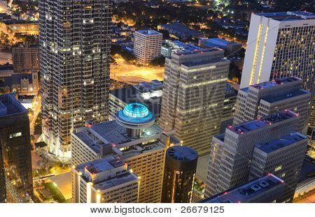 Modern Architecture in downtown Atlanta, Georgia, USA.
