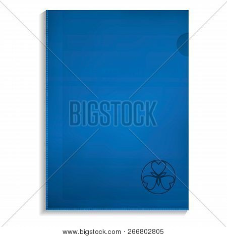 Paper Folder Icon. Realistic Illustration Of Paper Folder Icon For Web Design