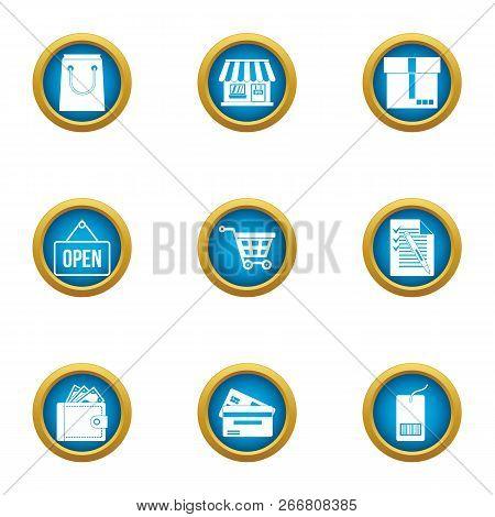 Periodical Publication Icons Set. Flat Set Of 9 Periodical Publication Icons For Web Isolated On Whi