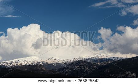 Sierra Nevada Is The Highest Point Of Continental Spain And The Third Highest In Europe. Andalucia,