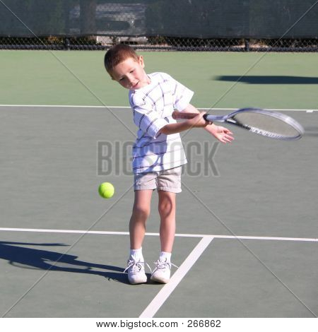 Boy Tennis Player 3