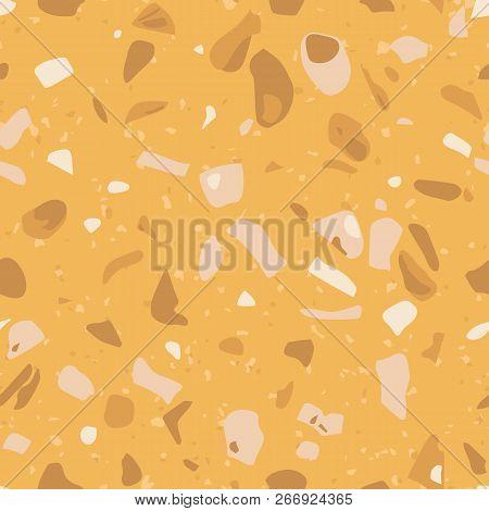 Yellow Terrazzo Vector Photo Free Trial Bigstock